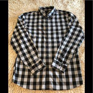 Men's Oakley Long Sleeve Button Up Shirt SZ L